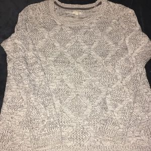 Sonoma Brand Cable Knit Sweater Size XL